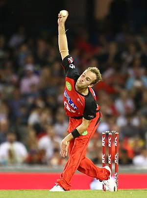 Brunswick Cricket Club - Cameron Stevenson playing in the Big Bash with Melbourne Renegades