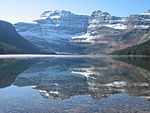 Cameron Lake, Waterton Glacier International Peace Park.