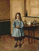 Camille Pissarro, Minette, ca. 1872. Oil on canvas, Wadsworth Atheneum Museum of Art,.jpg