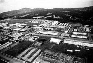 Camp Hansen U.S. Marine Corps base in Japan