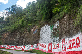 Guatemalan general election, 2015 - LIDER party campaign posters