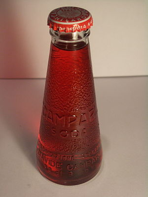 Fortunato Depero - Depero's 1932 bottle design for Campari Soda is still in production