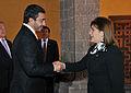 Canciller Eda Rivas se reunió con su homólogo de Emiratos Árabes Unidos (14076521144).jpg