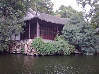 Wu Chinese-speaking people - Canglang Pavilion in Suzhou.