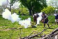 Cannon & Mortar Fire (Reenactment of the Battle of Culloden, Scotland in 1745).jpg