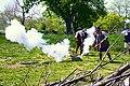 Cannon & Mortar Fire (Reenactment of the Battle of Culloden, Scotland in 1745).jpg