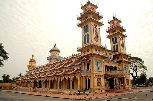 Wielka Świątynia Kaodaistyczna wTây Ninh