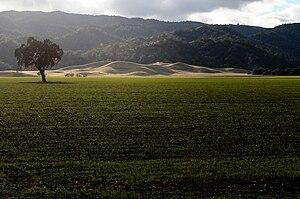 Capay Valley - Capay Valley and Capay Hills.