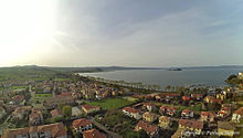 Capodimonte ( VT) - Il paese nuovo visto dal Drone