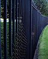 Car park security fencing. - geograph.org.uk - 499305.jpg