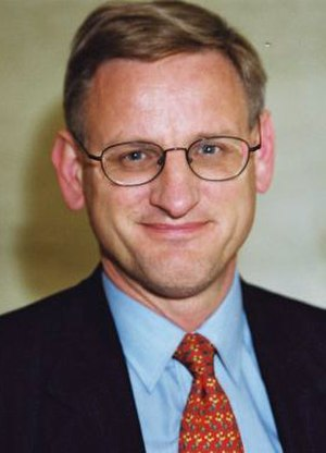 Moderate Party - Carl Bildt, leader of the party between 1986 and 1999. He was Foreign Minister between 2006 and 2014.