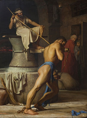 Carl Bloch - Samson and the Philistines - Google Art Project.jpg