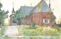 Carl Larsson - Sundborns gamla kyrka - Ett hem - 1899.tif