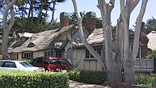 Photographie de maisons locales de Carmel-by-the-Sea