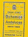 Carnaval de Málaga Gran Coro Bohemios Andaluces 1929.jpg