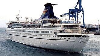 MV Ocean Star Pacific - The Carousel in September 1995.