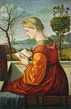 Carpaccio - Madonna che legge libro - National Gallery of Art Washington.jpg