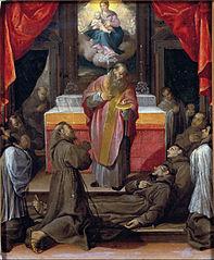 The Last Communion of Saint Franci