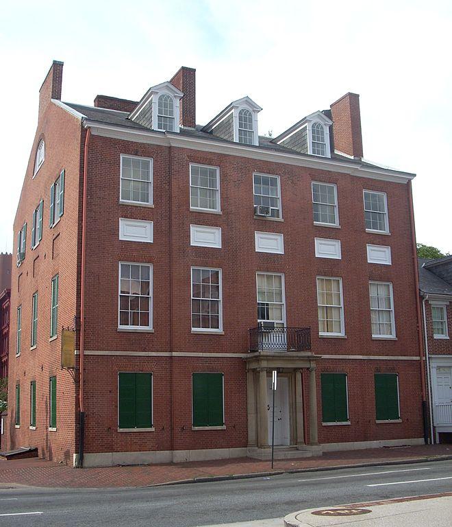 Lombard Apartments: File:Carroll Mansion, 800 E. Lombard St., Baltimore City
