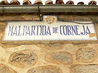 Malpartida de Corneja municipality in Castile and León, Spain
