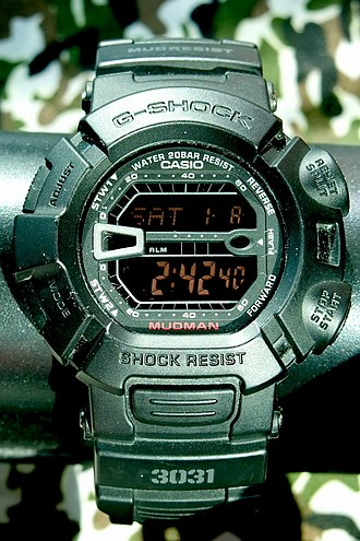 Master of G - Image: Casio Mudman 3031