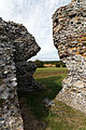 Castle Richborough Fort interior north wall Richborough Kent England 2.jpg