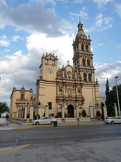 Monterrey Cathedral Church in Monterrey, Mexico