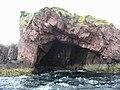 Cathedral cave, Tanera Beg - geograph.org.uk - 56484.jpg