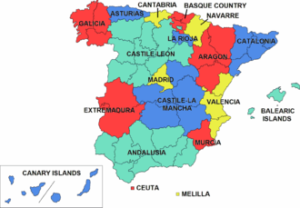 Politics of country subdivisions - Autonomous communities of Spain