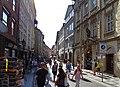 Celetná, od vyústění Ovocného trhu směrem ke Staroměstskému náměstí.jpg