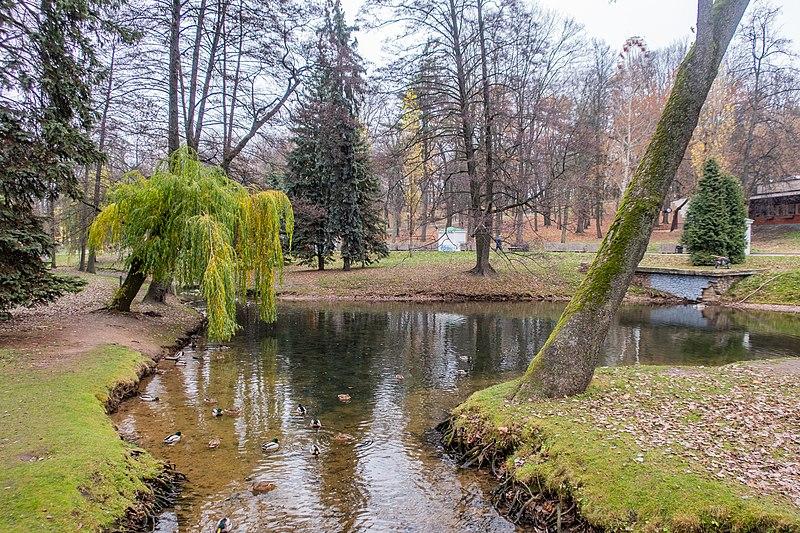 Central Children's Park — Park Horkaha (Gorky). Minsk, Belarus