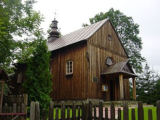 Brzegi Dolne - Greek Catholic church of Archangel Michael