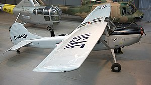 Cessna O-1 Bird Dog - USAF O-1F on display at the RAAF Museum
