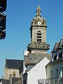 Châteauneuf-du-Faou 25 Le clocher de l'église paroissiale.jpg