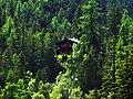Champex Lac's sight toward a chalet on spring - panoramio.jpg