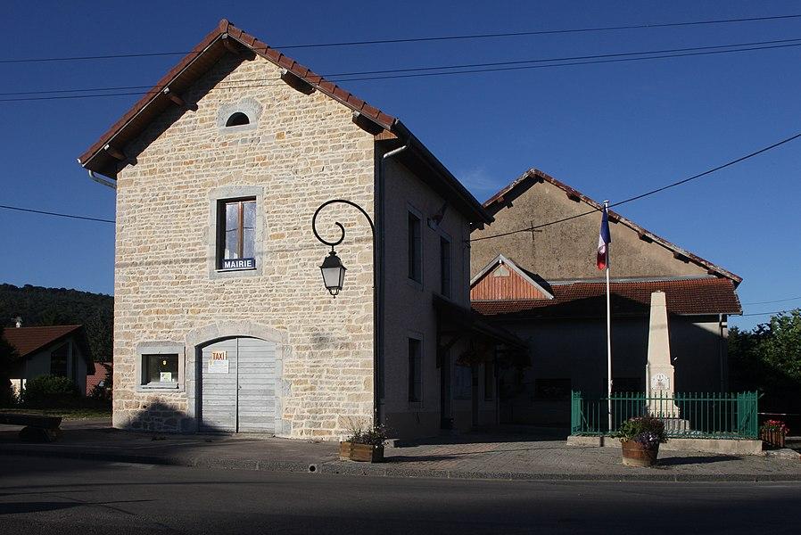 Mairie de Champlive (Doubs).