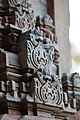 Chandramouleshwar Temple, Artistic designs on gopuram carved in Chalukya style on the outer walls of the temple.jpg