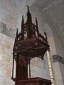 Chantérac église chaire détail.JPG
