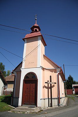 Chapel of Virgin Mary in Kyjov, Žďár nad Sázavou District.jpg