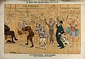 Characters in a pantomime Wellcome V0050359.jpg