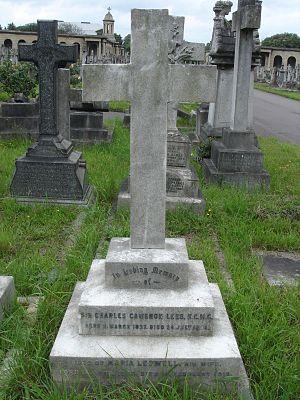 Charles Lees - Funerary monument, Brompton Cemetery, London