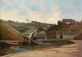 Brest, l'étang de la Villeneuve