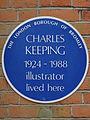 Charles Keeping 1924-1988 illustrator lived here.jpg