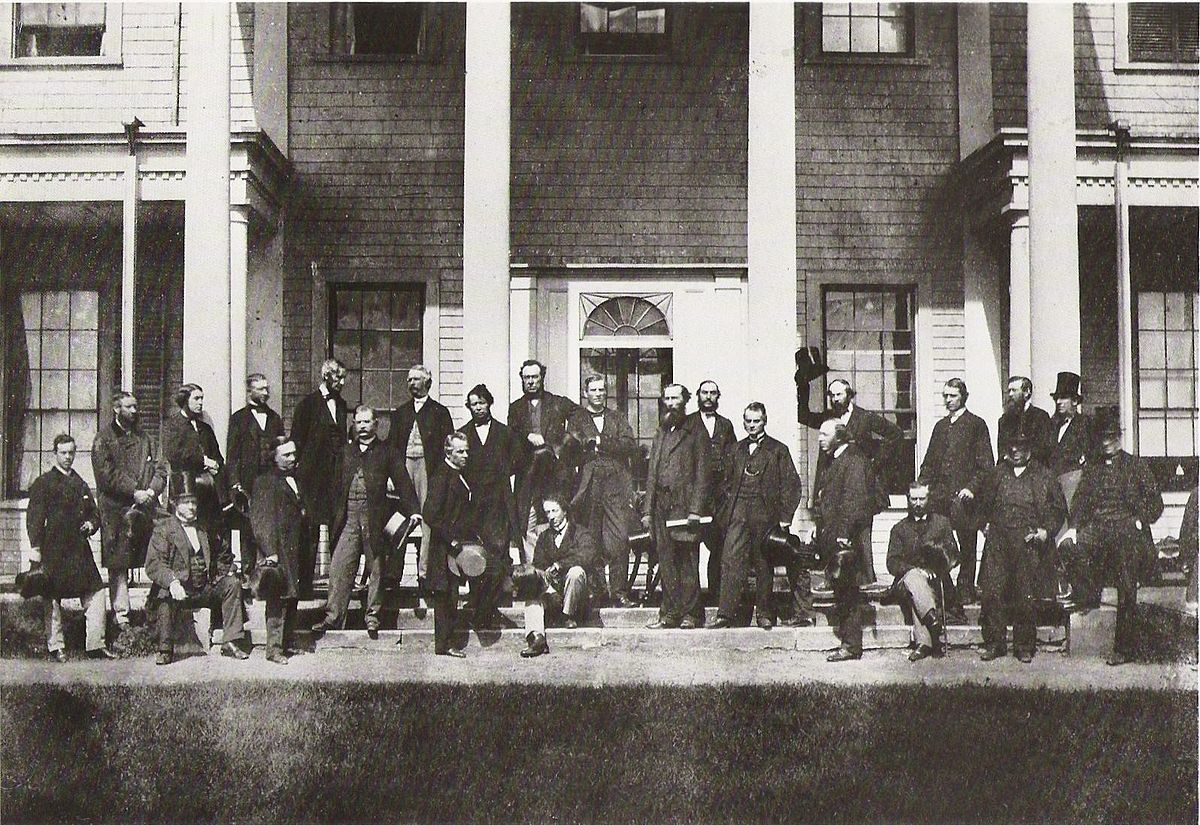confederation of 1867 Lac have loaned about 50 records highlighting the pivotal moments that led to the drafting of the british north america act, which are on display in the 1867 – rebellion and confederation.