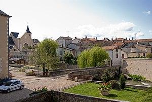 Chasseneuil-du-Poitou - The centre of Chasseneuil-du-Poitou