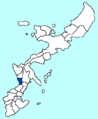 Chatan in Okinawa Map.png