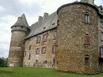 Arpajon-sur-Cère - The Chateau de Conros