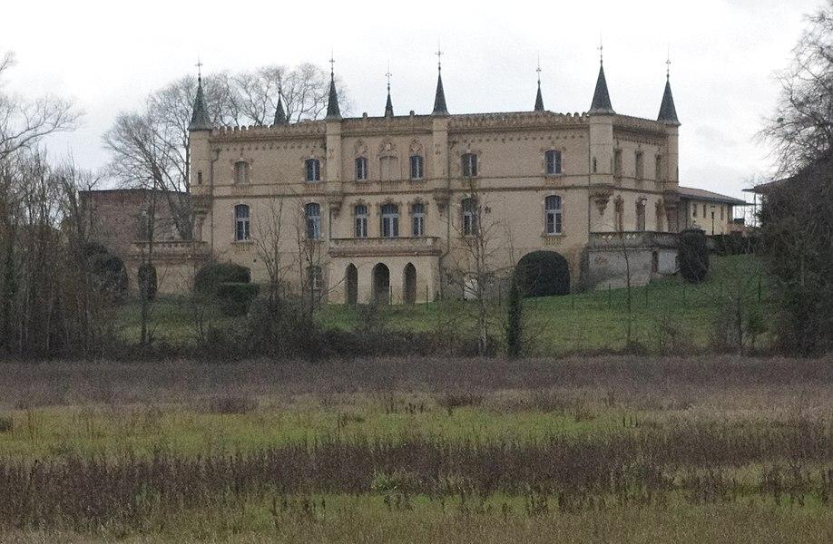Launaguet (Haute-Garonne, France): Château de Launaguet.