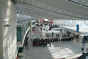 Check-In counters at Esenboğa Havalimanı, Ankara, Turkey.jpg