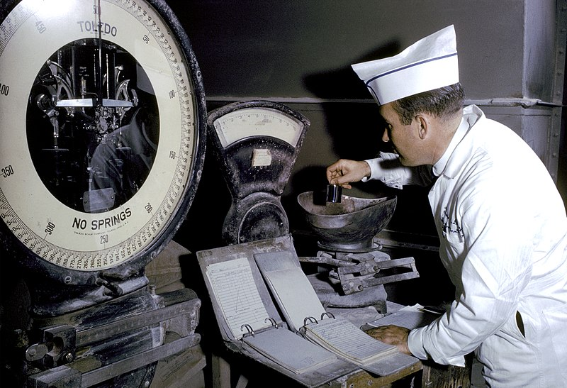 File:Checking Accuracy of a Scale in a Feed Mill Establishment (FDA 117) (8206621392).jpg